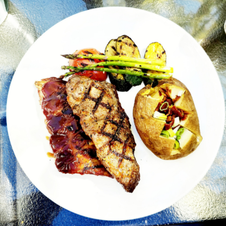 Steaks & Ribs served at medleys grill in North Vancouver